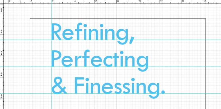 5 tips for refining, perfecting & finessing a logo