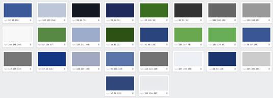 Grey: the secret colour trend in web design